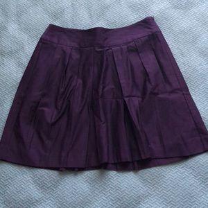 Gap | Purple Pleated Skirt - NWT!
